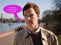 ¿Benedict Cumberbatch con sable láser? ¡Oh, sí, nena!