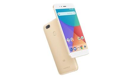 El Xiaomi Mi A1, en color dorado y con 64 GB, ahora en Amazon por 192 euros