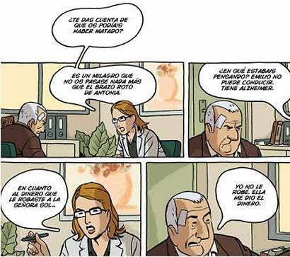 Arrugas, un cómic sobre el Alzheimer