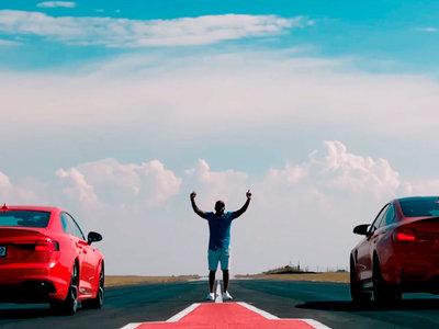 Vídeo: el Audi RS5 y el BMW M4 enfrentados en un drag con un final sorprendente... o no tanto