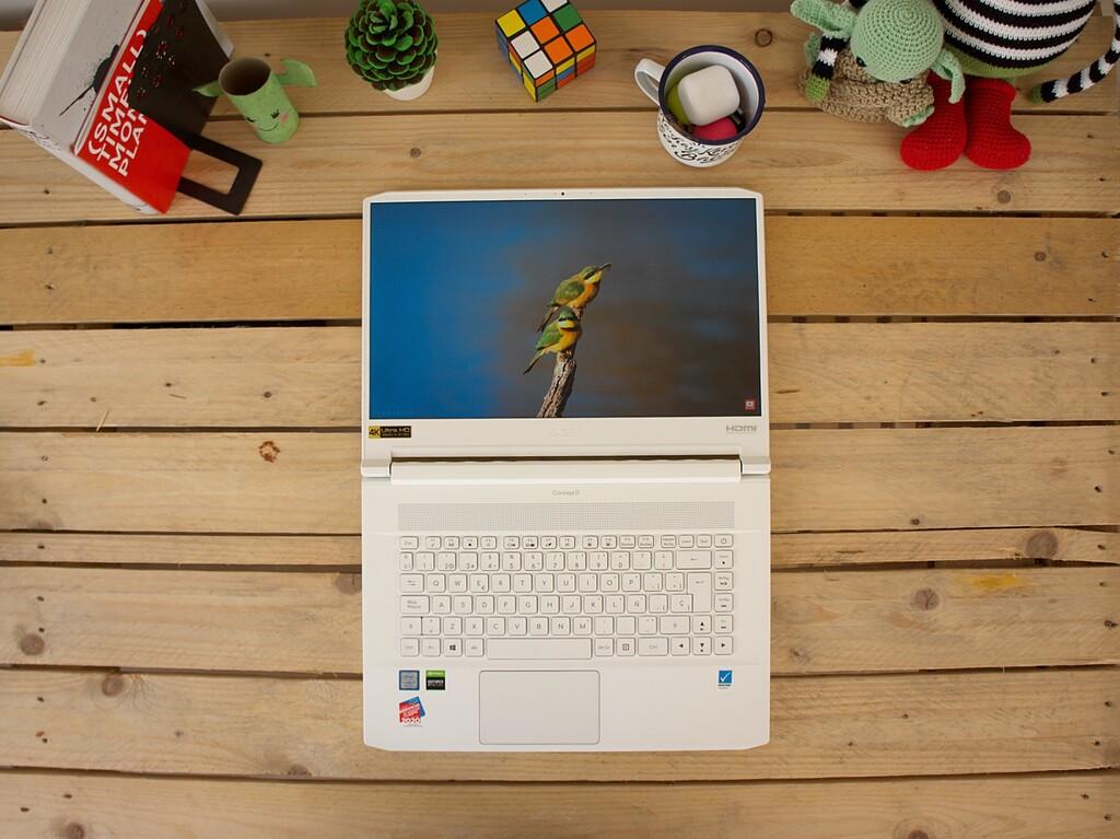 Acer ConceptD 7, análisis: una pantalla espectacular en cuerpo exquisito