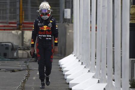 Verstappen Azerbaiyan F1 2021
