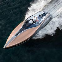 El último deportivo de Lexus surca las aguas en un doble motor V8