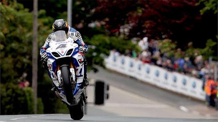 Guy Martin SBK Race