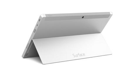 Microsoft Surface 2 Trasera