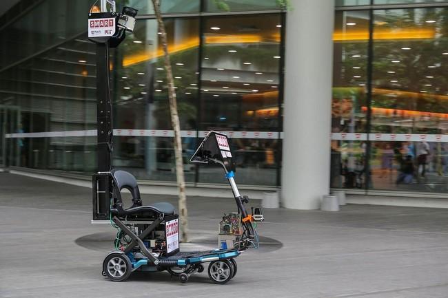 Scooter autónomo