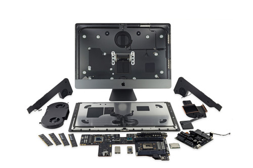 Viaje al interior del iMac Pro, tanto la RAM como la CPU son modulares según iFixit