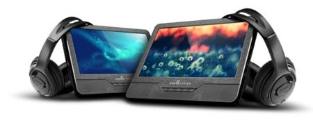 Energy Car Media Player, doble pantalla para tus viajes en coche con niños