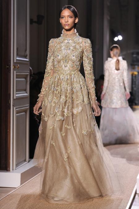 Vestido Valentino Alta Costura Primavera-Verano 2012