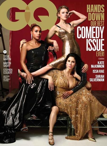 Gq Se Burla Del Desastroso Photoshop De Vanity Fair En La Nueva Portada De Su Numero Dedicado A La Comedia 2