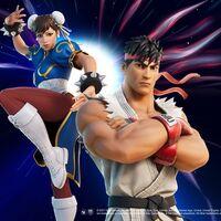 Ryu y Chun Li de 'Street Fighter' invadirán 'Fortnite' en el nuevo crossover del videojuego