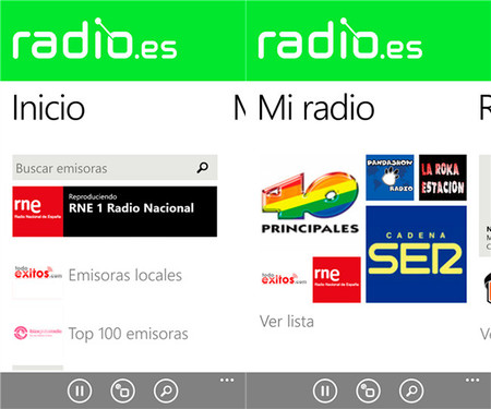 radio.es app