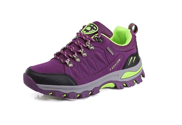WOWEI Zapatos de Senderismo Al Aire Libre Ocio Deportes Impermeable Antideslizantes Escalada Trekking Sneakers Zapatos de Montaña para Mujer Hombre