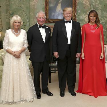 La razón por la que Melania Trump nos ha dejado un leve mal sabor de boca en su viaje oficial a Reino Unido