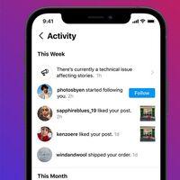 Instagram te avisará si se ha caído o estás a punto de ser baneado desde su aplicación