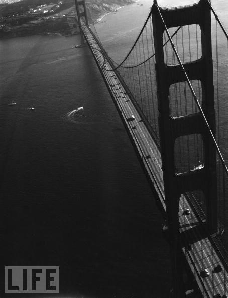 Foto de Construcción del Golden Gate, revista LIFE (11/11)