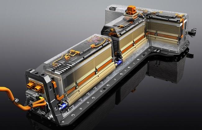 Baterías del Opel Ampera