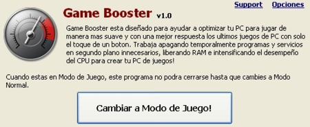 Cierra aplicaciones automáticamente cuando vayas a jugar con Game Booster