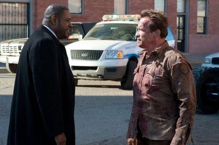 Forest Whitaker y Arnold Schwarzenegger en El Último Desafío