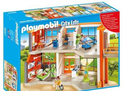 Gracias a Amazon puedes hacerte con el Hospital de Playmobil por sólo 77 euros con envío gratis