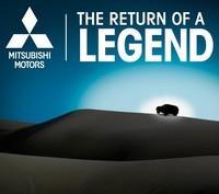 """Mitsubishi promete """"el regreso de una leyenda"""" para el 12 de febrero"""