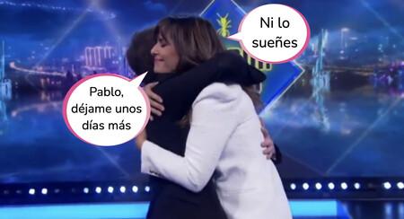 'El Hormiguero': Nuria Roca rompe a llorar tras estas emotivas palabras de Pablo Motos