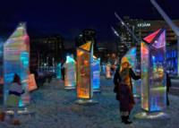 Esta iluminación con prismas hará que nos olvidemos de nuestras aburridas luces de Navidad