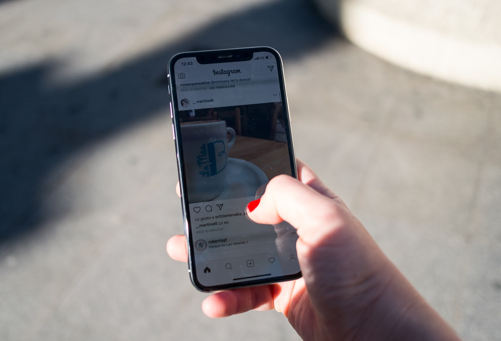 Iphone X Uso Sol