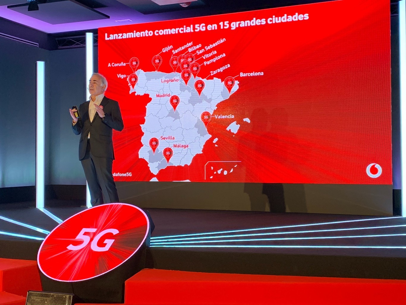 El 5G de Vodafone llega a sus tarifas Vodafone Bit y prepago: vodafone yuser, súper yuser, mega yuser y Mi País
