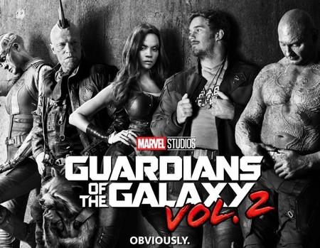 'Guardianes de la Galaxia Vol. 2' ya tiene póster y mola mucho