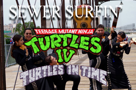 Alguna vez se preguntaron ¿cómo se escucharía el tema de Turtles In Time en mariachi?