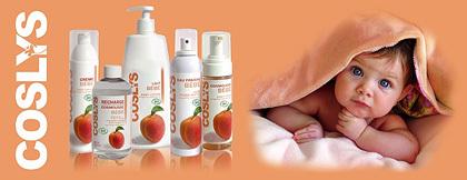 Coslys, nueva gama de cuidados para el bebé
