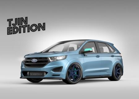 Ford Edge Tjin SEMA Show