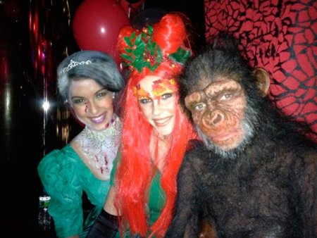 ¡Las celebrities se disfrazan en Halloween!