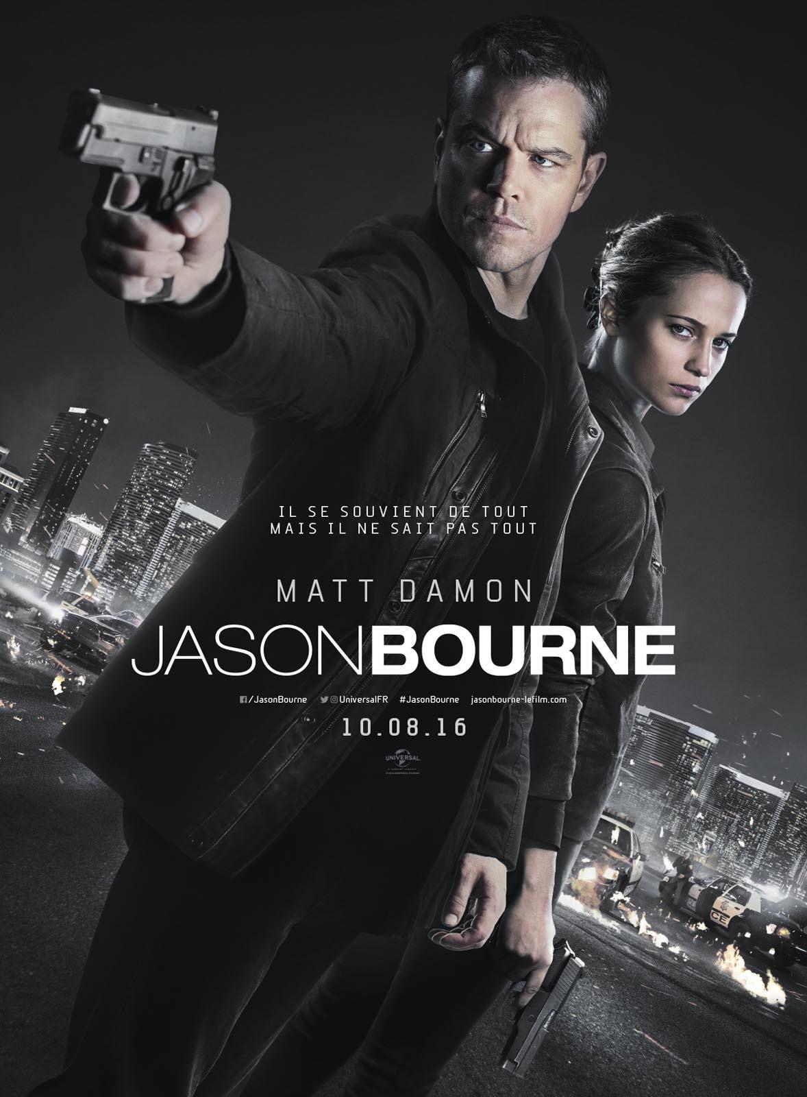 Foto de 'Jason Bourne', carteles (6/7)