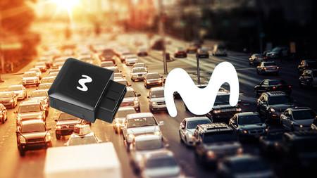 Así es Movistar Car, el router para conectar cualquier coche a Internet por 3 euros al mes