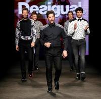 Desigual presenta su nuevo concepto de masculinidad en la pasarela 080 de Barcelona