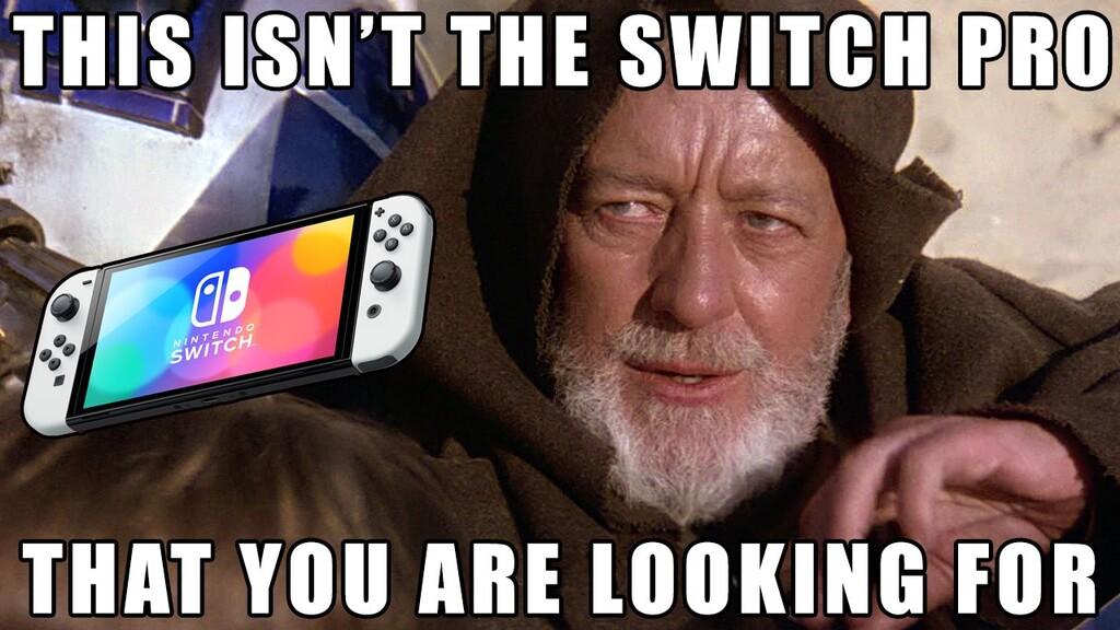 La nueva Nintendo Switch OLED puede gustarte más o menos, pero sus memes te van a encantar