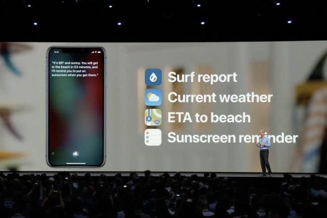 Algunas funciones de respuesta de Siri Shortcuts