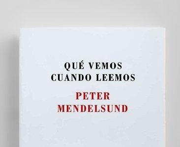 'Qué vemos cuando leemos', un original libro ilustrado de Peter Mendelsund