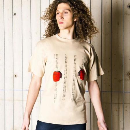 Camisetas de Amnistía Internacional. Compras solidarias