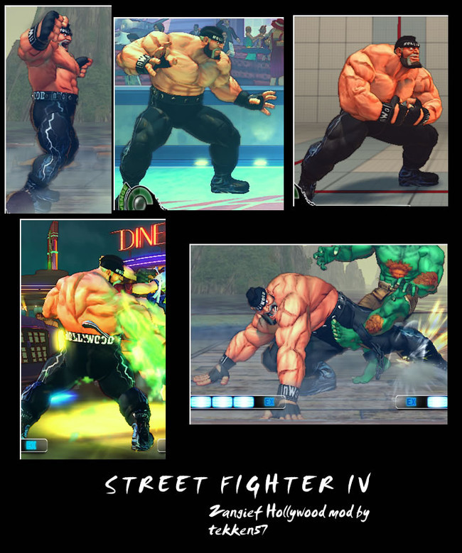 'Street Fighter IV' mods de personajes