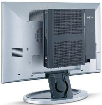 Fujitsu nos enseña su monitor sin cables