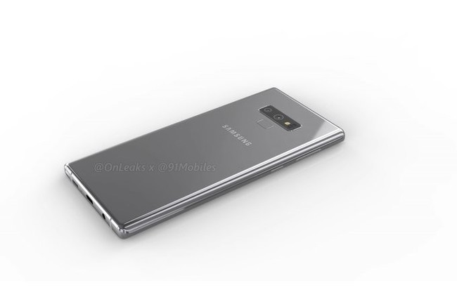 Galaxy Note nueve filtrado