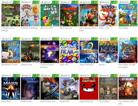 Juegos retrocompatibles con Xbox 360 en Xbox One