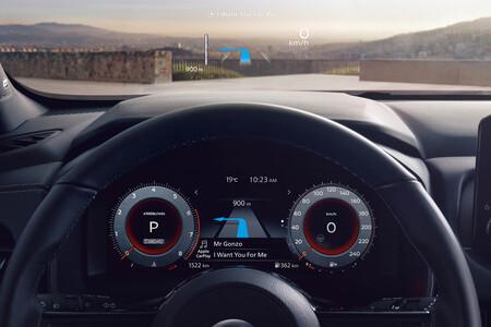 Nissan Qashqai Premiere Edition Headup display