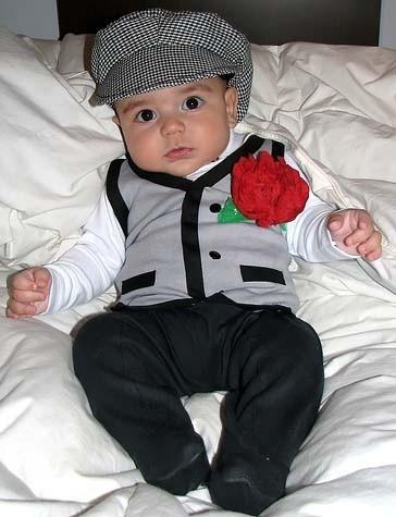 La foto de tu bebé: chulapo madrileño