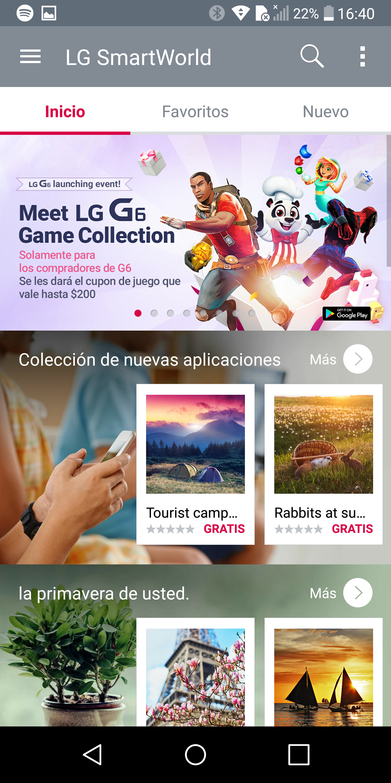 Foto de LG G6, interfaz de usuario (33/47)