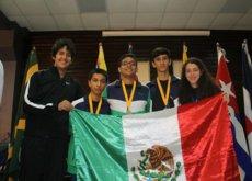 Estos adolescentes mexicanos ganaron medallas de oro  y plata en Olimpiada Matemática