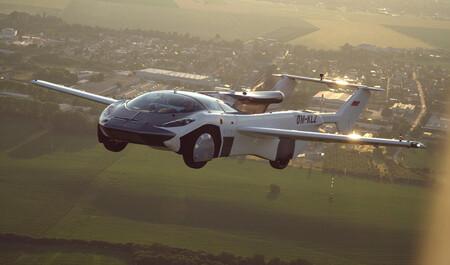 ¡Ya es una realidad!, el AirCar Prototype 1 se convierte en el primer auto volador